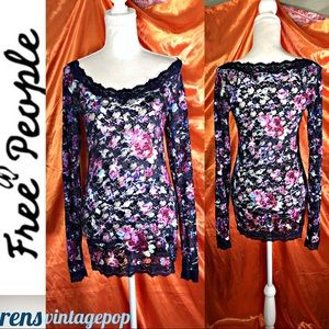 Stretch Lace On or off shoulder tunic or dress